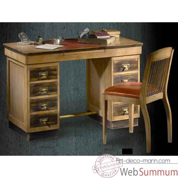 bureau directoire 5 tiroirs 2 tirettes poque 18 me dans bureau long island. Black Bedroom Furniture Sets. Home Design Ideas