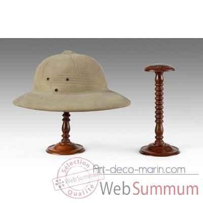porte chapeau acajou massif meuble de navire a02040001 dans meuble de navire. Black Bedroom Furniture Sets. Home Design Ideas