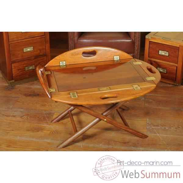Table basse majordome Phileas Club -Phil001