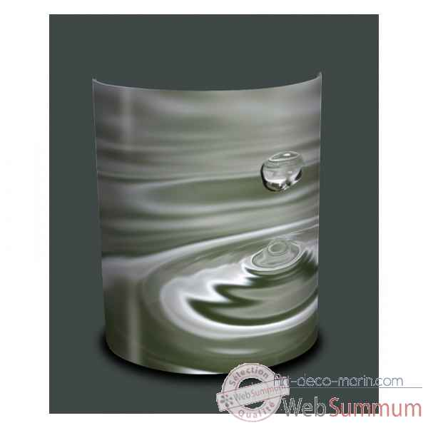 Applique murale nature groutte d'eau -NA1209APP