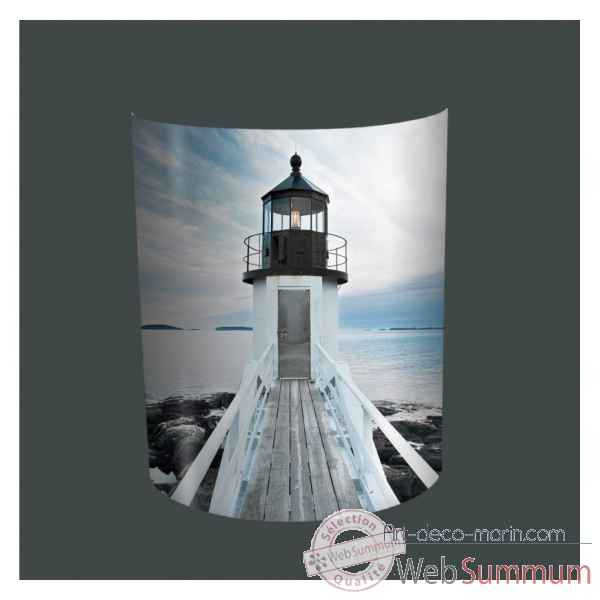 Applique murale plisson ponton phare -PL1622