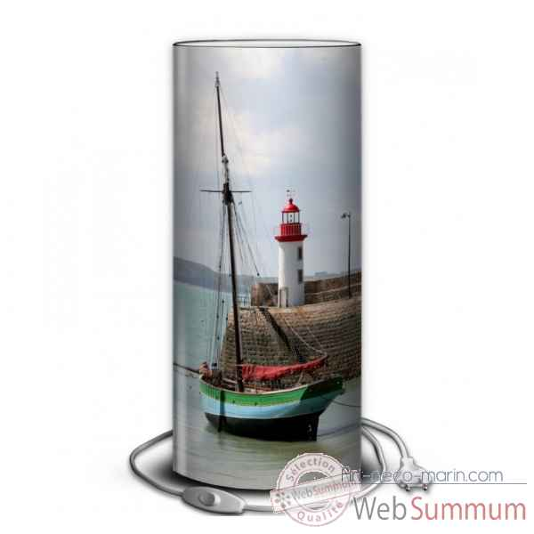 Lampe collection marine vieu greement au port -MA1228