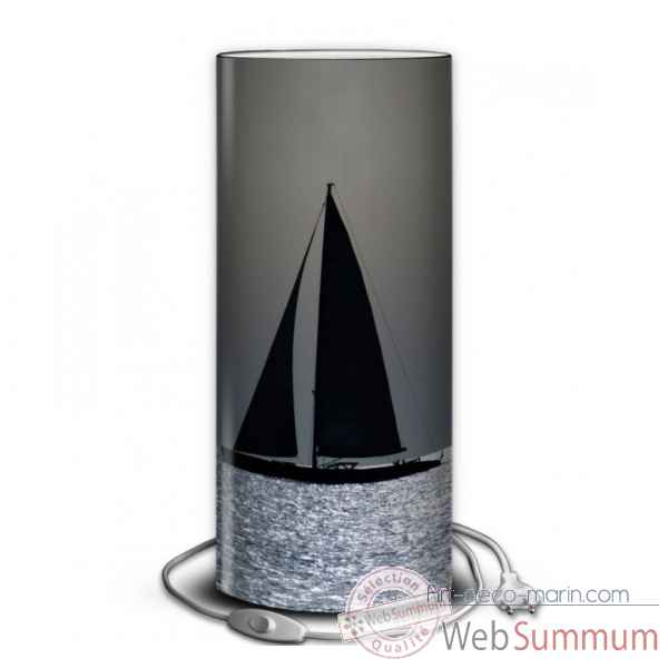 Lampe collection marine voilier contre jour -MA1359