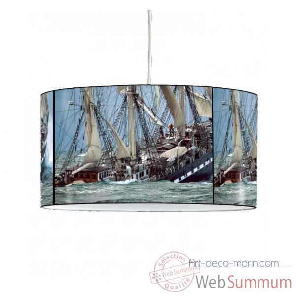 Lampe suspension collection plisson bateau belem -PL1603SUS