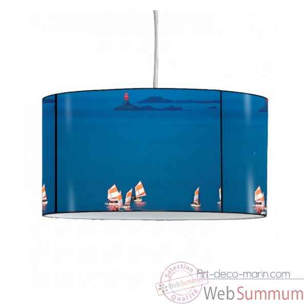 Lampe suspension collection plisson bateaux optimistes -PL1604SUS