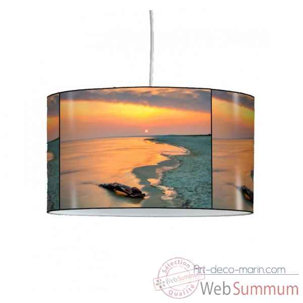 Lampe suspension marine coucher de soleil -MA1571SUS
