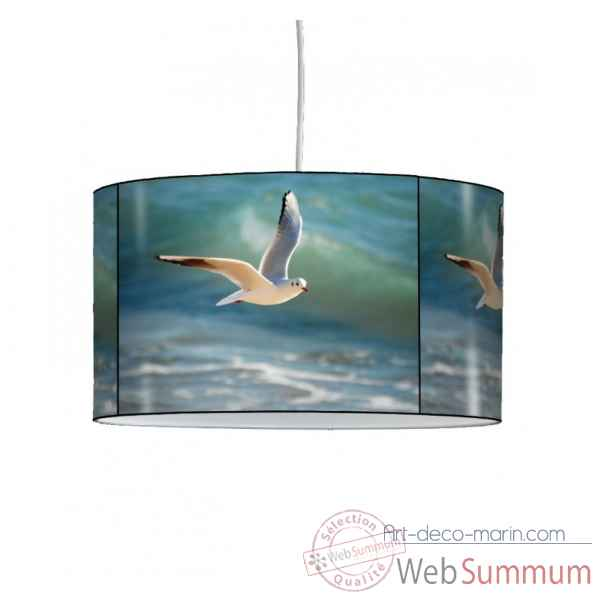 Lampe suspension marine mouette en vol -MA1212SUS