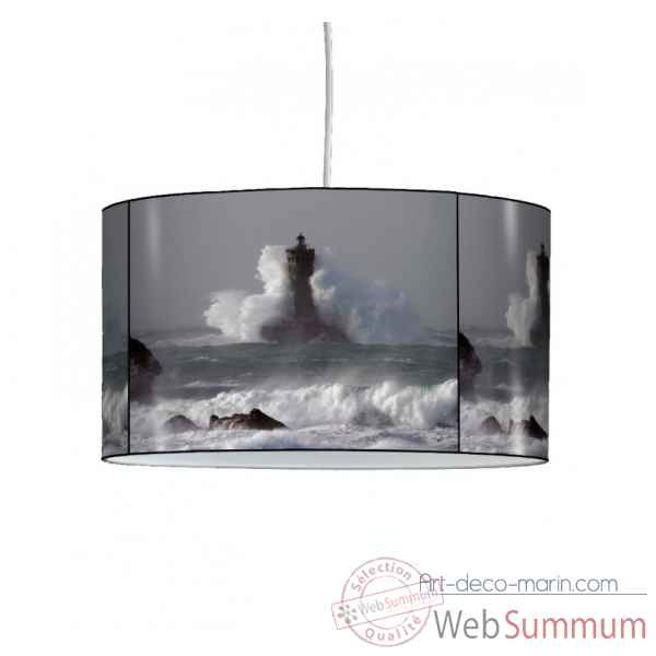 Lampe suspension marine phare et tempete -MA1505SUS