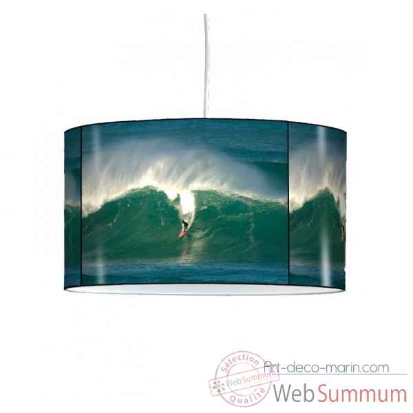 Lampe suspension sports et loisirs surfeur sur la vague -SL1321SUS