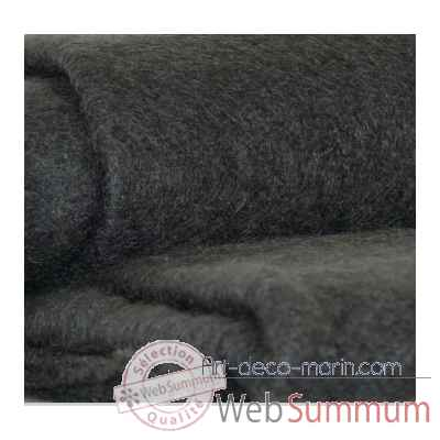 plaid en mohair midipy gris anthracite mid011 dans coussin plaid sur art d co marin. Black Bedroom Furniture Sets. Home Design Ideas