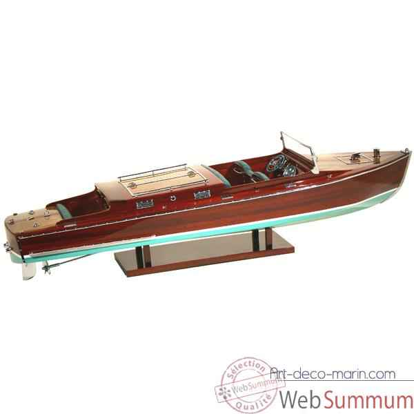 Video Maquette Runabout Americain-Craft-Collection Riva - R-CRAFT50