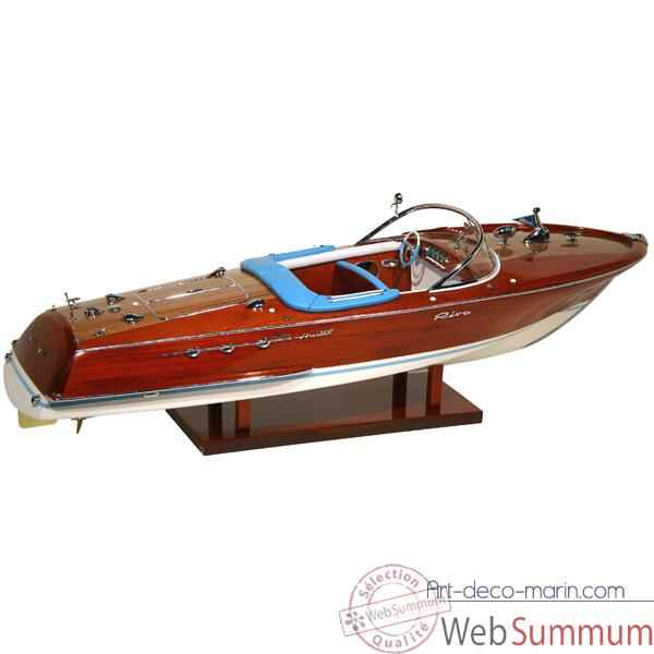 Video Maquette Runabout Italien-Riva Super Ariston - Licence Officielle RIVA - R-SARIS69