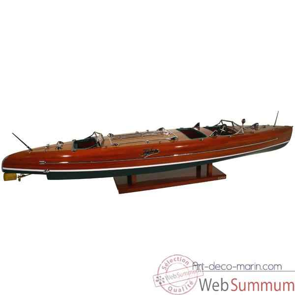 Maquette Runabout Americain-Typhoon- Collection Riva - RTYPH92