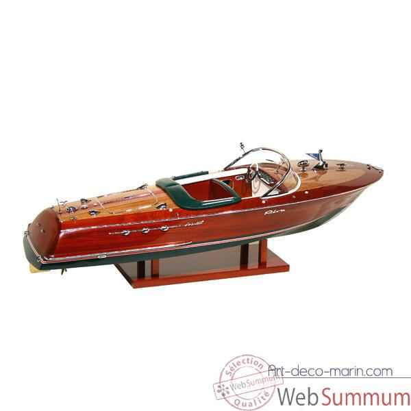 Video Maquette Runabout Italien-Riva Ariston - Licence Officielle RIVA - R-NARIS68