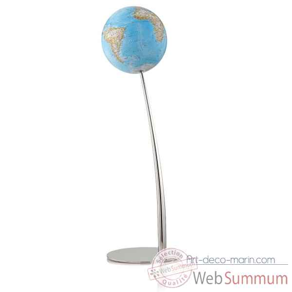 Globe iron classic national geographic lumineux