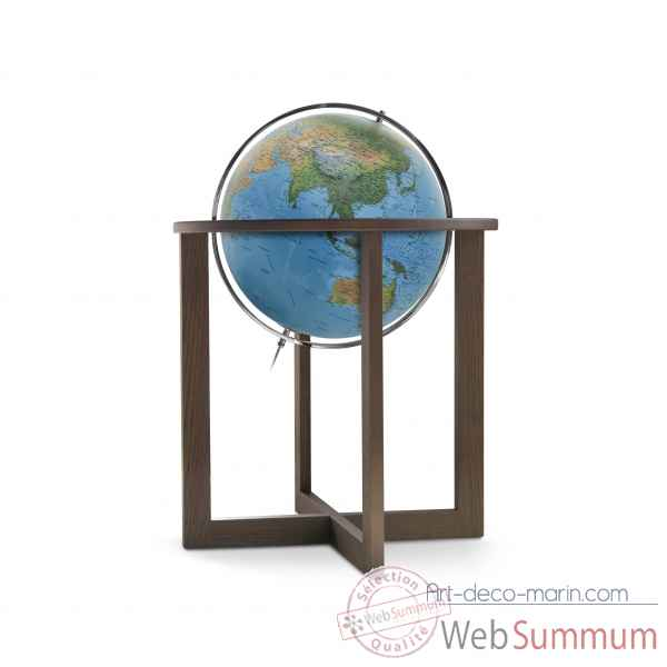 Globe lumineux cross blue double cartographie 50 cm (diametre) Sicjeg
