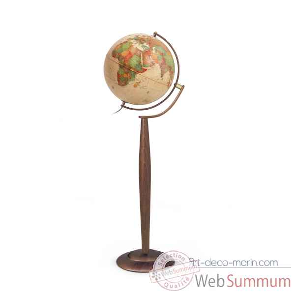 Globe lumineux sylvia antique antique 37 cm (diametre) Sicjeg