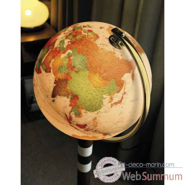 Globe lumineux twin antique antique 40 cm (diametre) Sicjeg