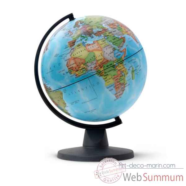 globe non lumineux mini 16 politique mini cartographie. Black Bedroom Furniture Sets. Home Design Ideas
