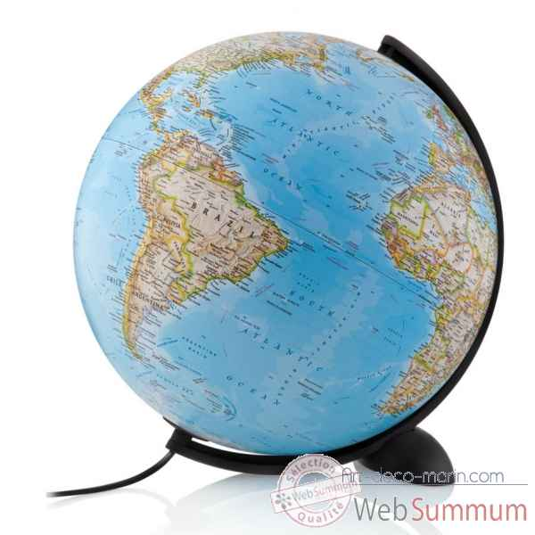 Globe silicon classic national geographic lumineux