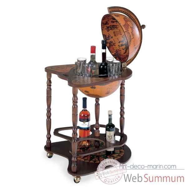 bar mappemonde zoffoli de zoffoli dans bar sur art d co marin. Black Bedroom Furniture Sets. Home Design Ideas