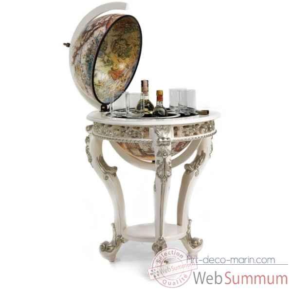 mappemonde de bureau avec photo cadre zoffoli de d coration marine. Black Bedroom Furniture Sets. Home Design Ideas