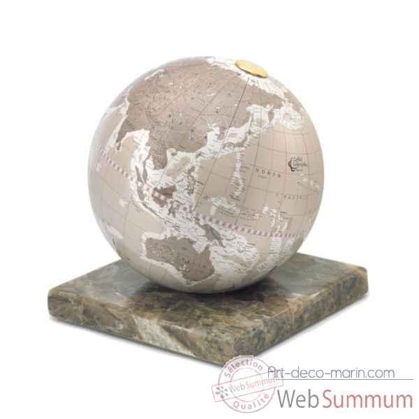 mappemonde design stone zoffoli dans globe terrestre. Black Bedroom Furniture Sets. Home Design Ideas